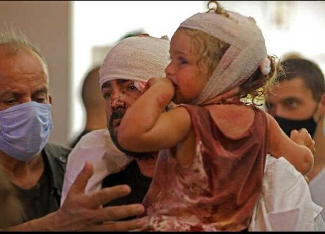 یونیسف: ۸۰ هزار کودک ازانفجار بیروت تاثیر گرفته و آسیب دیدهاند