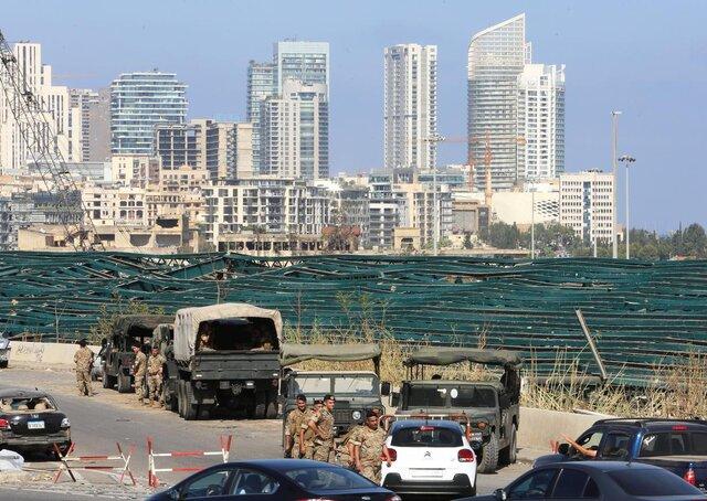 امیدی نمانده ... لبنانیها در حال برآورد خسارات انفجار