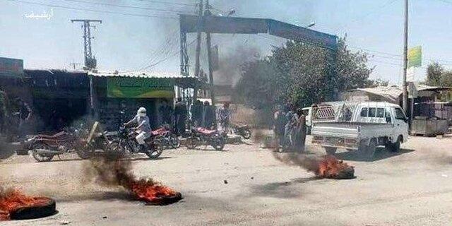 """ادامه درگیری میان نیروهای """"قسد"""" و ساکنان محلی شرق سوریه"""