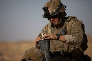 انفجار بمب در مسیر کاروان نظامی آمریکا در جنوب عراق