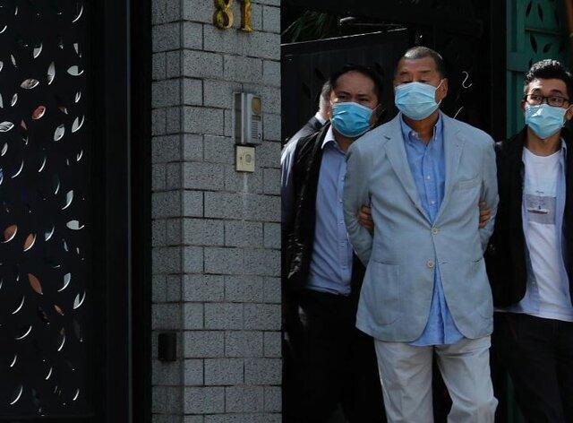 میلیونر و ناشر برجسته هنگکنگی تحت قانون امنیتی بازداشت شد