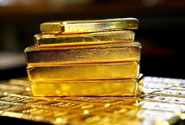 طلا در برابر صعود دلار عقب نشست