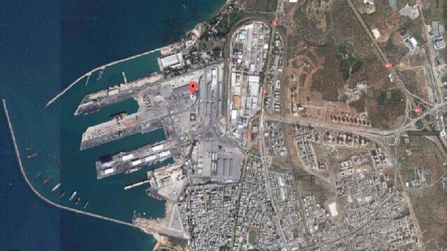 هیچ ماده منفجرهای در بنادر سوریه نیست