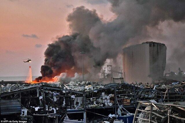 تیم تحقیقات درباره انفجار بیروت گزارش خود را تحویل داد/جلسه امروز کاخ بعبدا برای بررسی نتایج