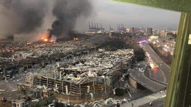 بازداشت شدگان پرونده انفجار بیروت به دادگاه نظامی ارجاع داده میشوند