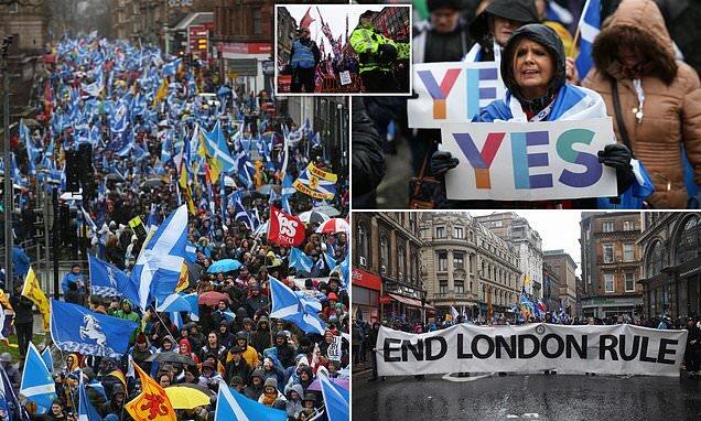 اسکاتلندیها حامی استقلال از انگلیس هستند