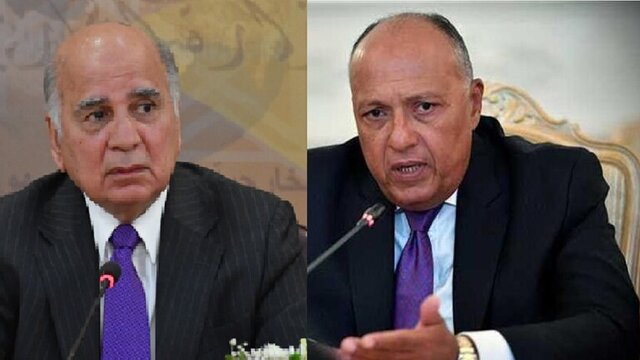 رایزنی وزرای خارجه عراق و مصر درباره تجاوز اخیر ترکیه