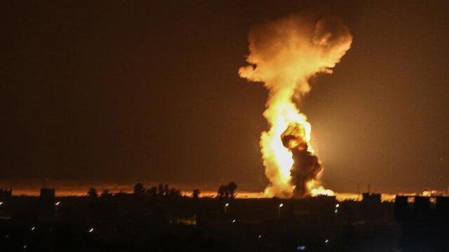حمله مجدد جنگنده های رژیم صهیونیستی به غزه
