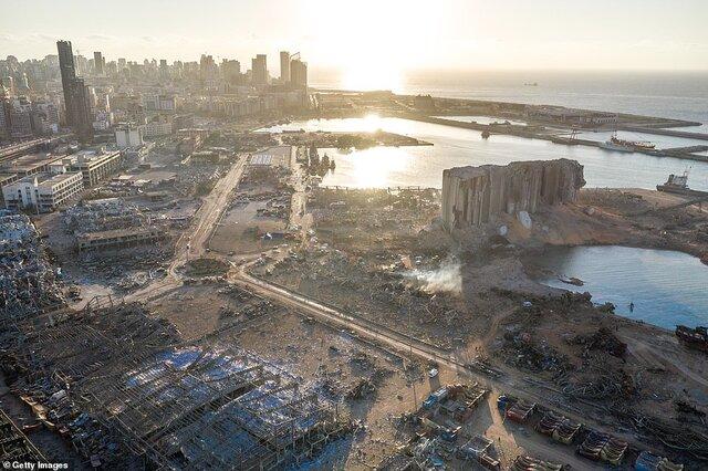 مطرح شدن اتهامهایی علیه ۲۵ تن به دلیل انفجار بیروت