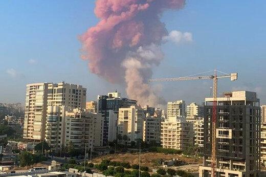 سرخط مهمترین اخبار انفجار بیروت/حمله رژیم صهیونیستی به انبار تسلیحاتی حزبالله صحت ندارد
