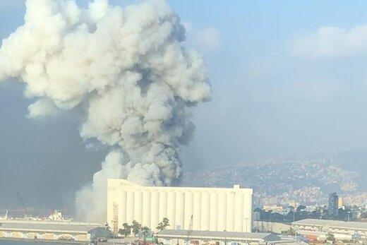 تازه ترین اخبار انفجار بیروت/واکنش پنتاگون/استاندار بیروت: انفجار در بیروت  شبیه به حادثه هیروشیما و ناکازاکی می باشد