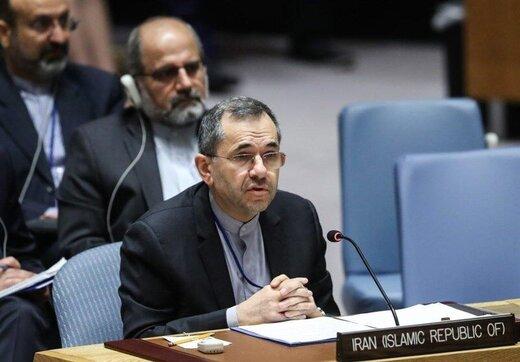 نامه اعتراضی ایران به سازمان ملل درباره تعرض جنگندههای آمریکایی