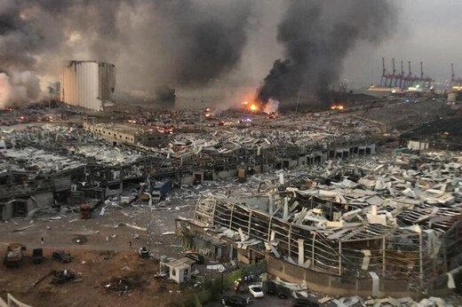 ببینید | تصاویری وحشتناک از بیمارستان بیروت لحظه وقوع انفجار مهیب