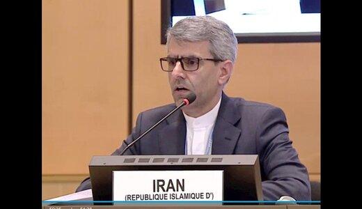درخواست ایران از جامعه بینالمللی درباره عربستان