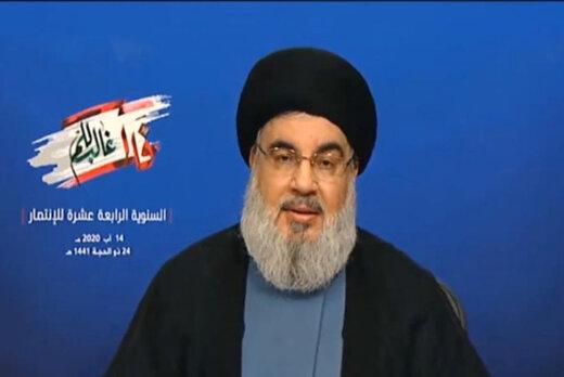 سید حسن نصرالله:اگر اسرائیل مرتکب این جنایت شده باشد بهایی در همان حجم خواهد پرداخت.