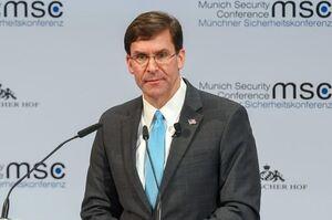 اسپر: شریکانمان را در منطقه برای مهار ایران تقویت خواهیم کرد