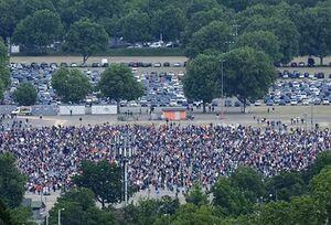 تظاهرات دوباره در آلمان علیه محدودیتهای کرونایی