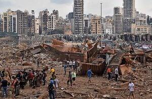 پایان اولین مرحله از عملیات امداد و نجات در بندر بیروت