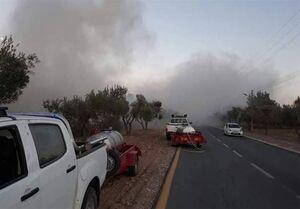 گسترش دامنه آتشسوزی در شهرکهای صهیونیستنشین