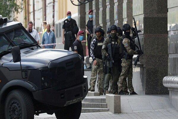 گروگانگیری در پایتخت اوکراین/ خنثیسازی بمب در جریان است