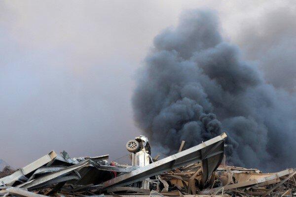 احتمال دست داشتن نیروهای آمریکایی در انفجار لبنان