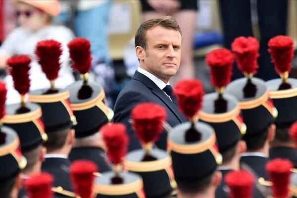 رئیسجمهور فرانسه وارد بیروت شد