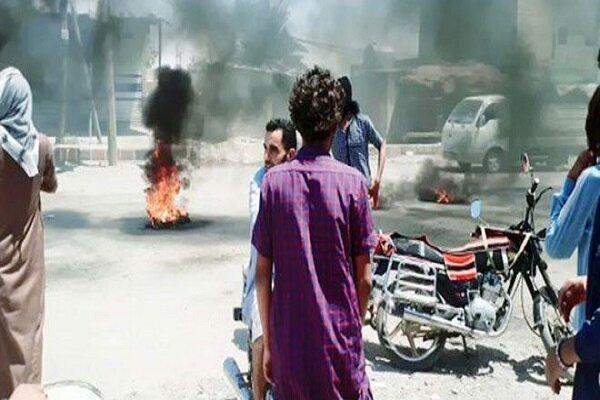 تداوم اعتراضات ضد آمریکایی در حومه دیرالزور