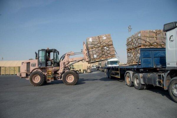 کمکهای غذایی و پزشکی آمریکا به لبنان ارسال شد