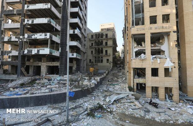 بر اثر انفجار بیروت ۶۰ نفر مفقود شدهاند