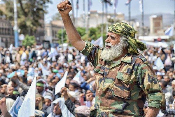 یمنی ها علیه سیاست های آمریکا و رژیم صهیونیستی شعار دادند