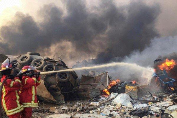 شمار قربانیان انفجار بیروت به ۱۵۸ نفر رسید