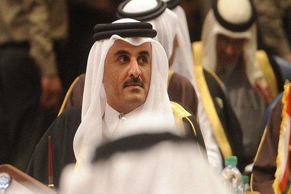 امیر قطر: ۵۰ میلیون دلار به لبنان کمک میکنیم