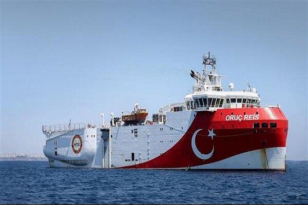 ترکیه در نزدیکی آب های یونان رزمایش دریایی برگزار می کند
