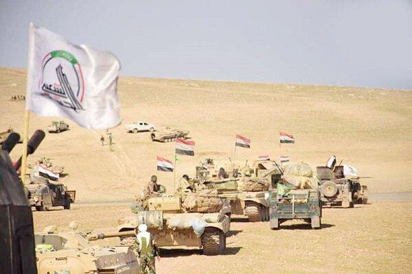حشد شعبی مواضع داعش در جنوب سامراء را در هم کوبید