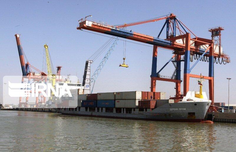 صادرات کالا از گمرک خرمشهر ۵۴ درصد افزایش دارد