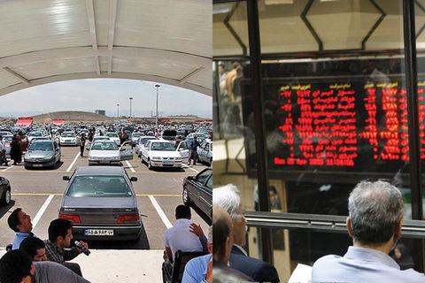 تاثیر عرضه خودرو در بورس