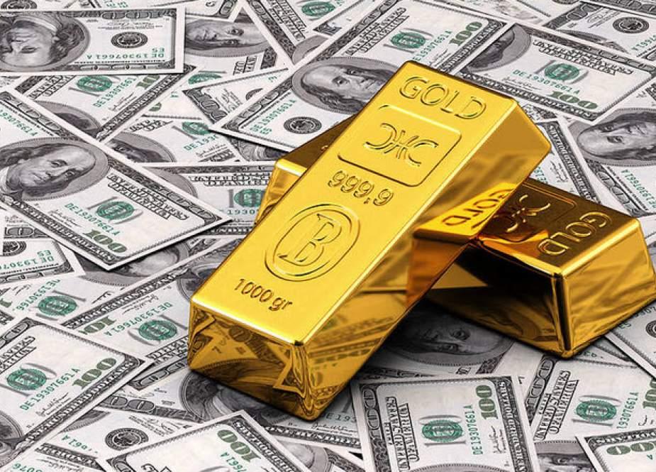 صعود قیمت طلای جهانی تهدید جدی برای تضعیف دلار آمریکا