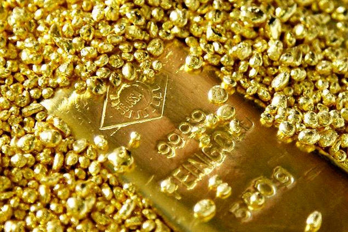 کاهش ناچیز قیمت جهانی طلا