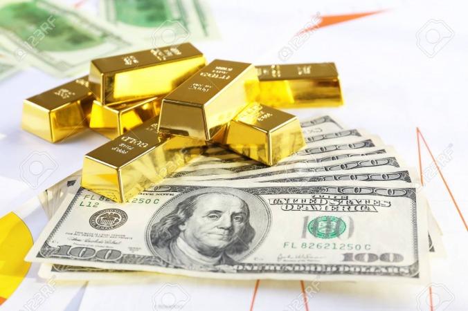 کاهش قیمت دلار مهم ترین دلیل افزایش قیمت طلا