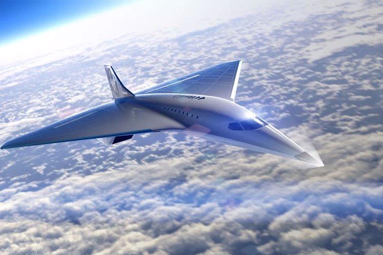 ویرجین گلکتیک هواپیمای مسافربری با سرعت سه ماخ میسازد
