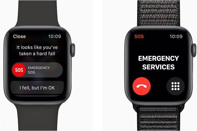 اپل واچ با تشخیص سقوط کاربر، دادههای سلامتی را به سرویسهای اورژانس ارسال میکند