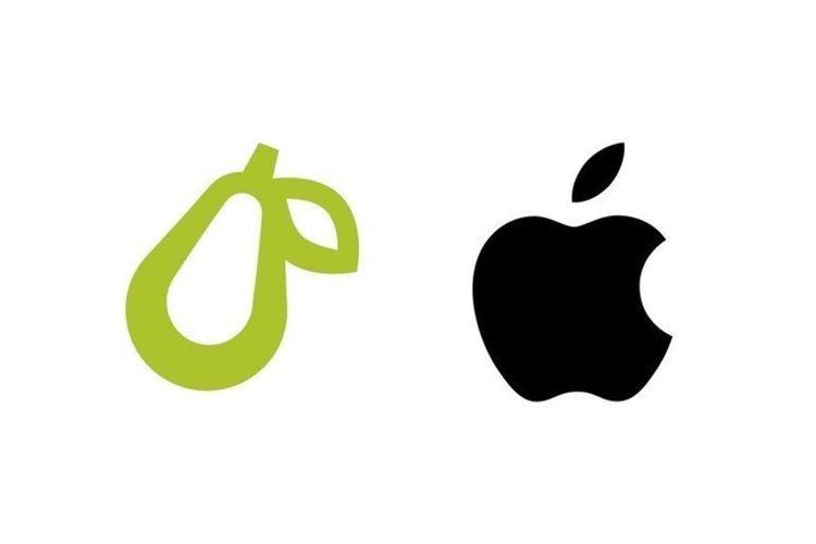 اپل علیه شرکتی کوچک با لوگو گلابیشکل اقدام قانونی کرد