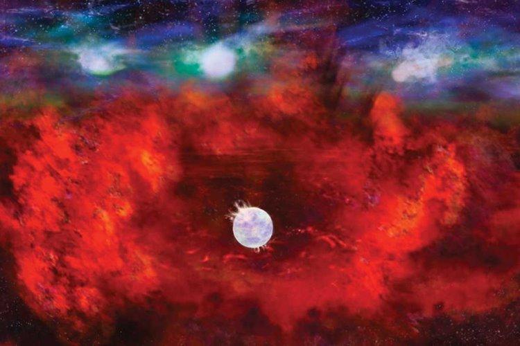دانشمندان موفق شدند ستارهای نوترونی کشف کنند که تنها ۳۳ سال عمر دارد