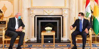 دیدار فرستاده ویژه واشنگتن با «مسرور بارزانی»