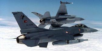 پشتیبانی اف-16های ترکیه از آذربایجان