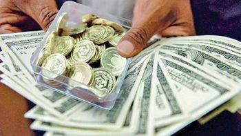حرکت پرشتاب دلار در ایام احتیاط سکه+جدول ونمودار