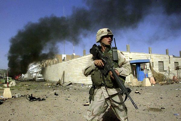 حمله راکتی به پایگاه نظامی «ویکتوری» در عراق