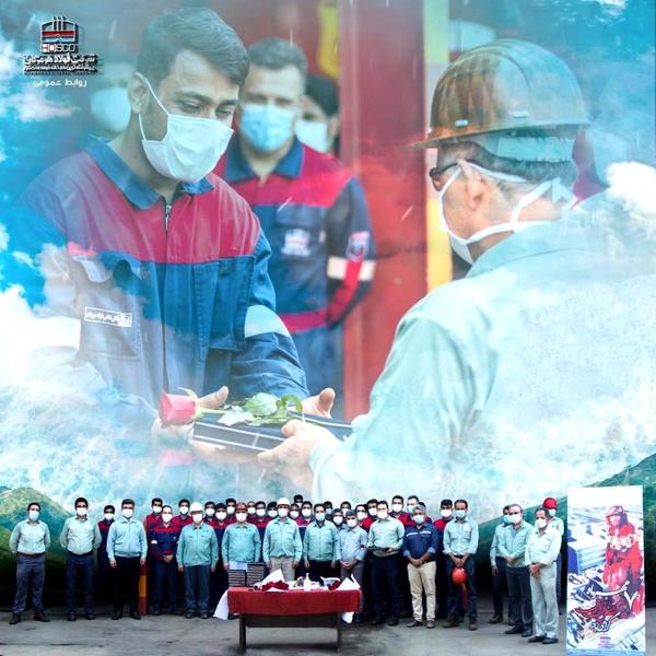 تبریک مدیرعامل فولاد هرمزگان به مناسبت روز ایمنی و آتش نشانی