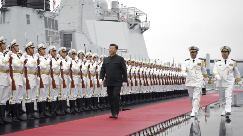 خیز چین برای تبدیل شدن به قدرت دریایی برتر جهانی