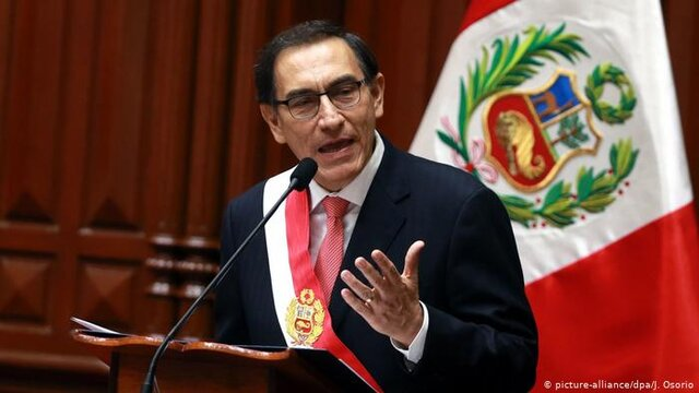 استیضاح رئیسجمهوری پرو به سرانجام نرسید